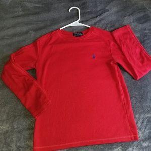 Ralph Lauren Red Long Sleeve shirt